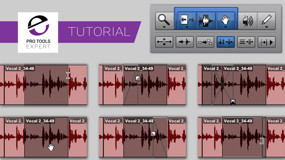 Getting To The Grips With Pro Tools Part 7 - Using The Smart Tool