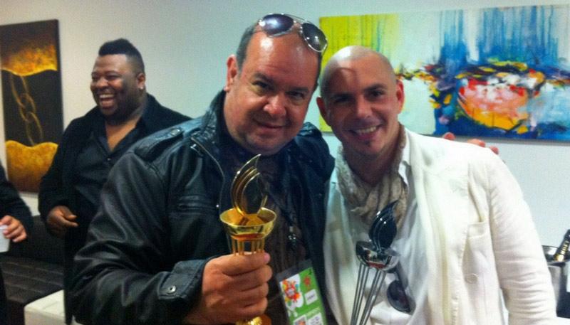 Lu Diaz Pitbull Chile 2011