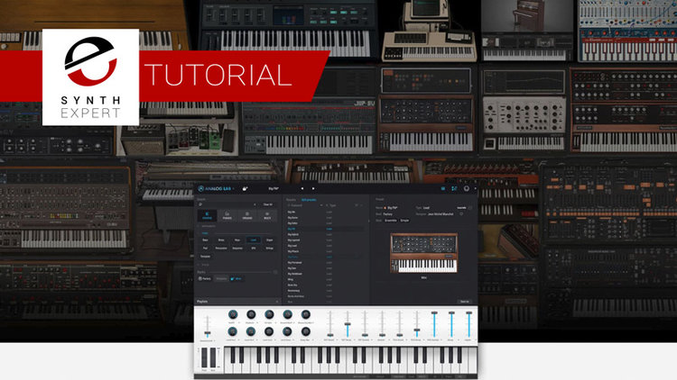 Free Tutorial - How To Use The Arturia Analog Lab 3 Software | Synth