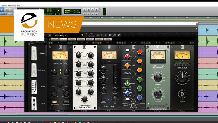 Slate Digital Vmr Virtual Mix Rack Plugin Bundle - Digital