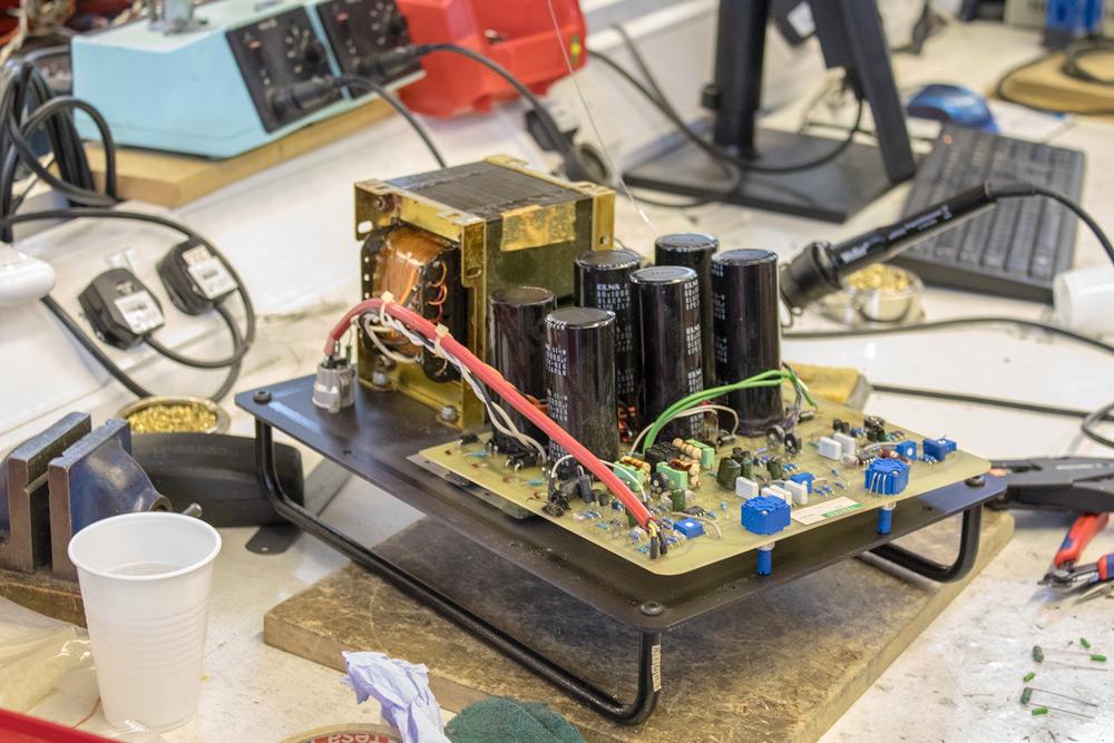 Amp Module In For Repair