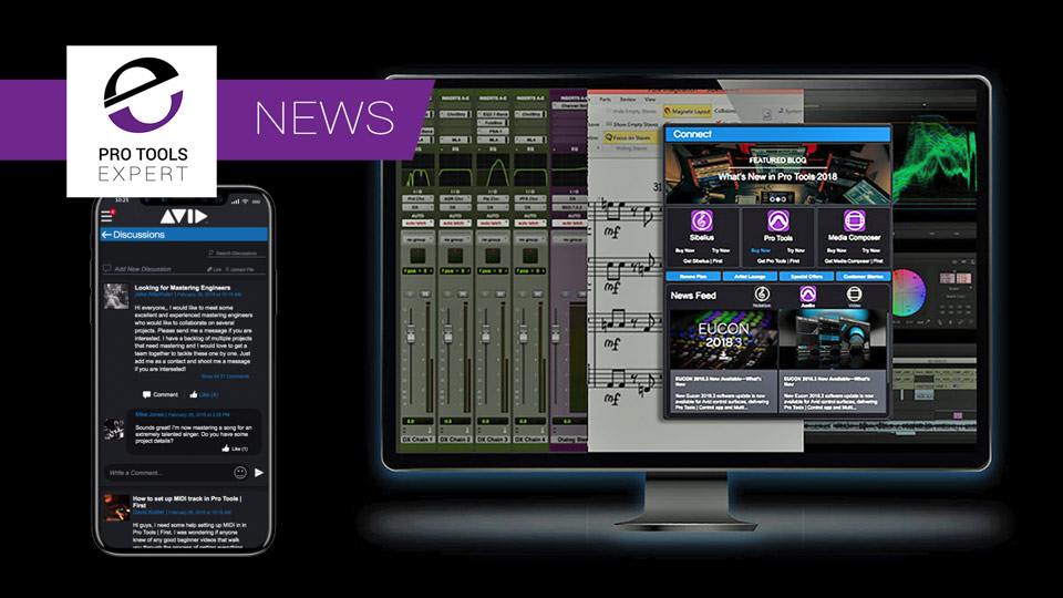 Avid Announce A New Connect App Coming Soon