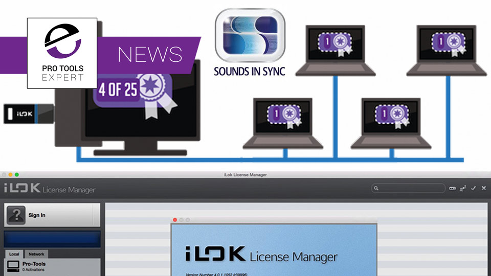 Sounds In Sync Offer Support For iLok Network Licenses