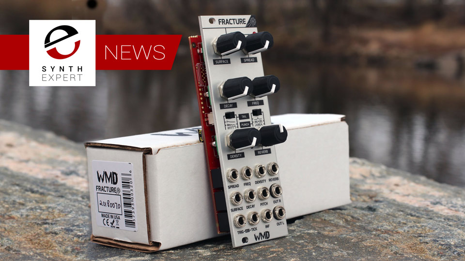 WMD Release Fracture Percussion Synth Module In Eurorack Format