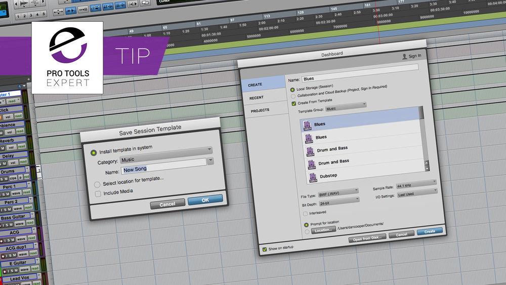 New To Pro Tools? Never Underestimate The Power Of Making Custom Session Templates