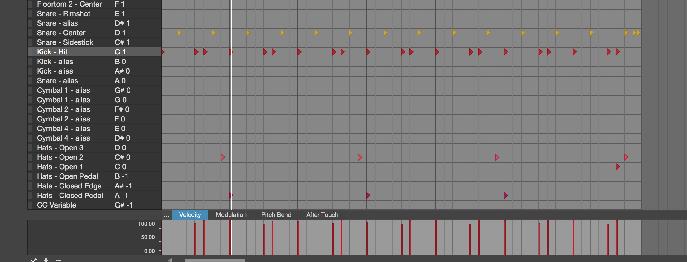 Drum Editor