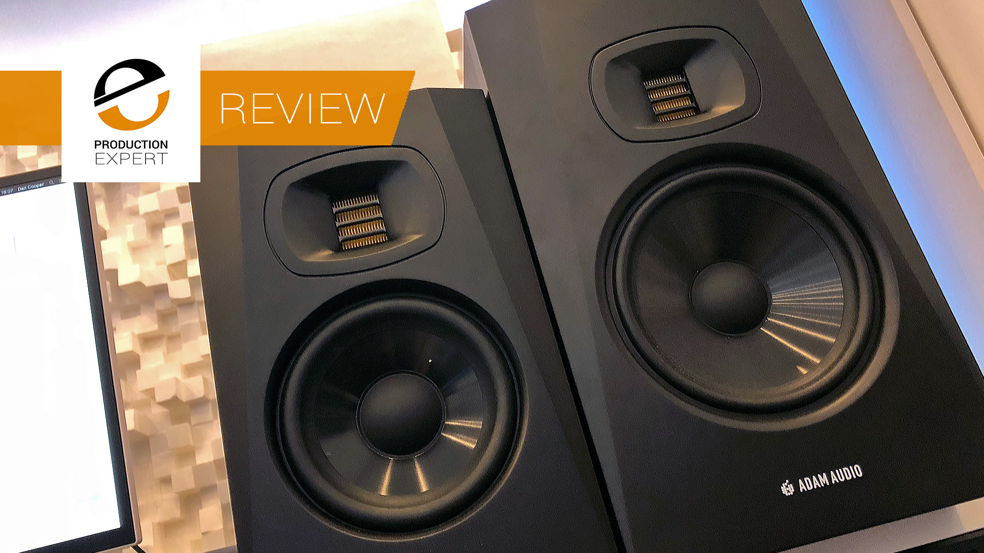 Review - ADAM Audio T Series - Low Cost Studio Monitors