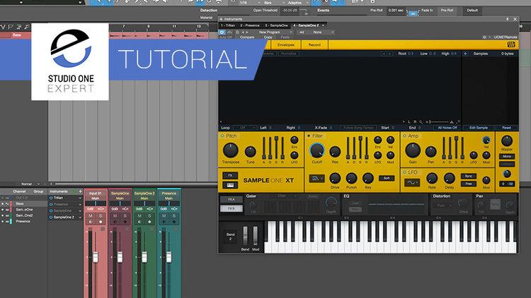 Virtual Instrument — Studio One
