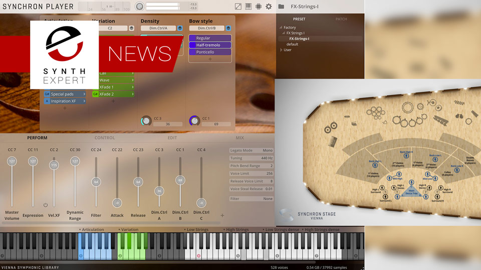 Vienna Symphonic Library Release Synchron FX Strings I