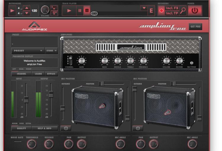 Free Guitar Amp Plugins for Mac | Logic Pro