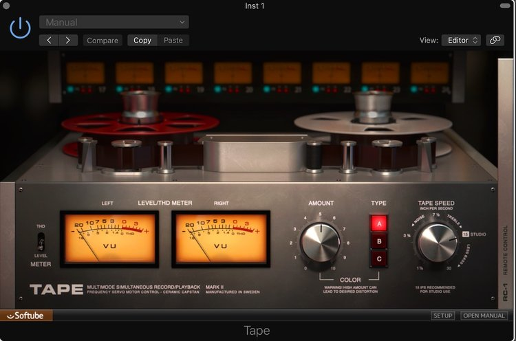 Review - Softube Tape | Logic Pro