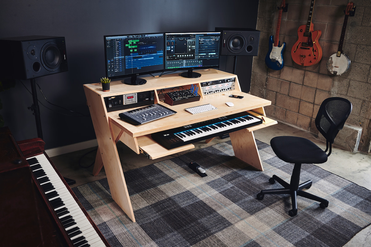 a picture of platform, the new studio desk from output