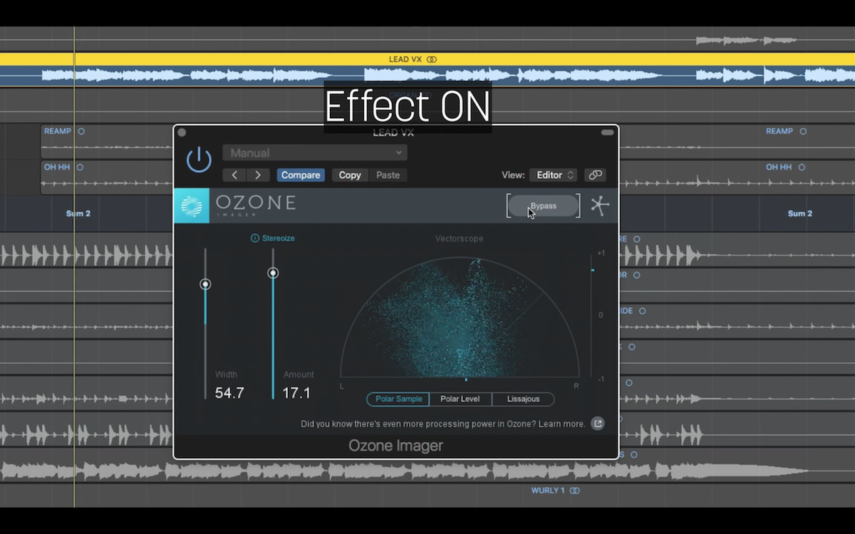 Free Stereo Imaging Plugin - iZotope Ozone Imager