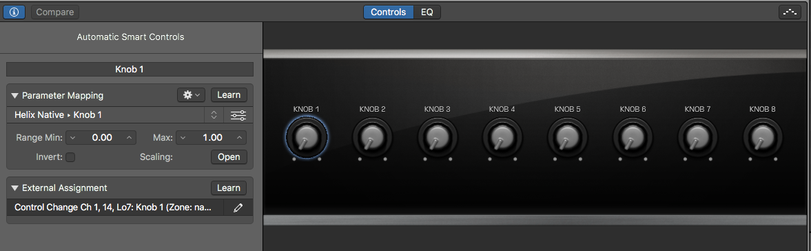 using smart controls in logic pro x