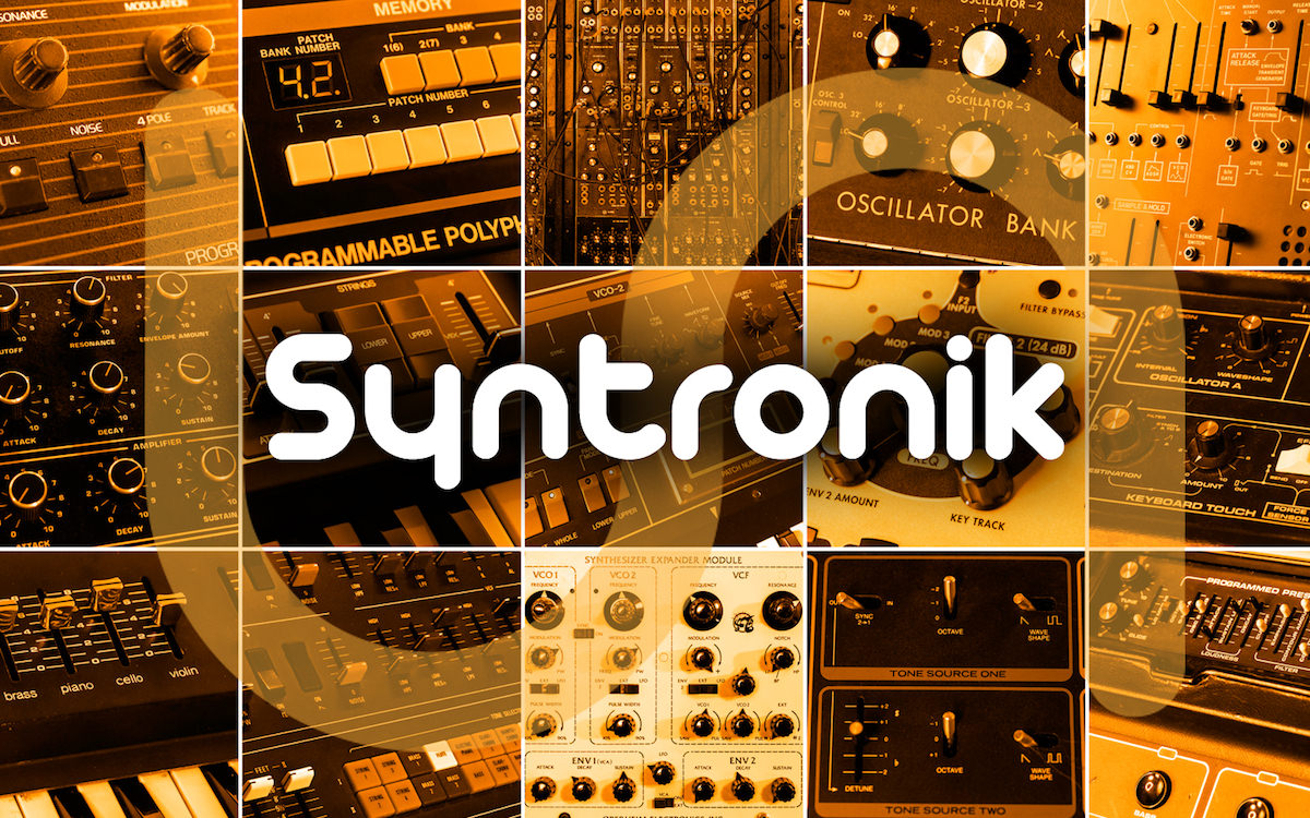 an image showing all the virtual synths in the Syntronik bundle