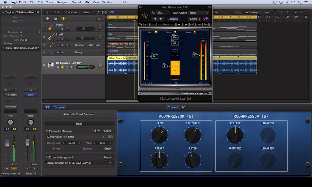 How To Use Smart Controls With Waves Renaissance Compressor