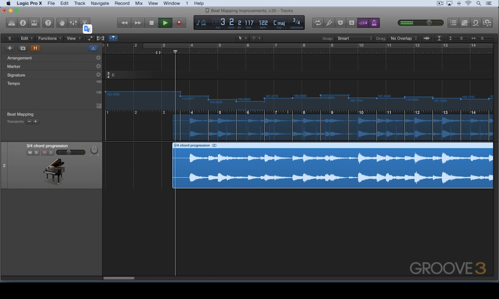 new beat mapping features in logic pro x
