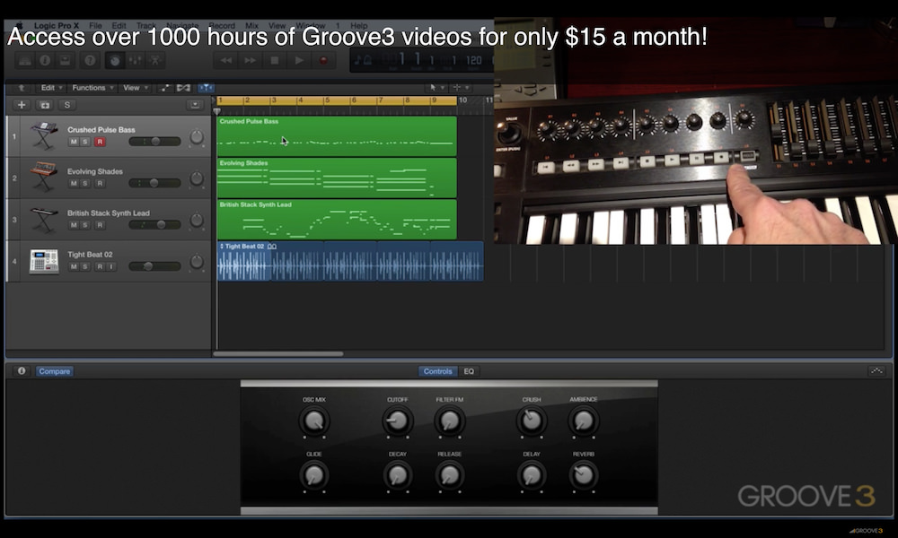 Logic Pro X 10.2.2 - Automatic Control Surface Assignment (Video)