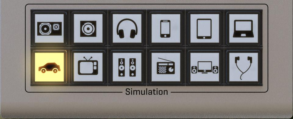 Audified Mixchecker Simulation