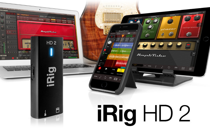 the all new iRig HD2