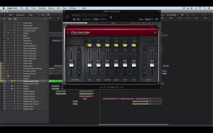 Video – Mixing Female Lead Vocals with Waves CLA Vocals | Logic Pro