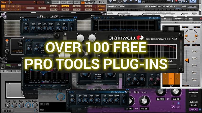 Free Pro Tools Plug-ins