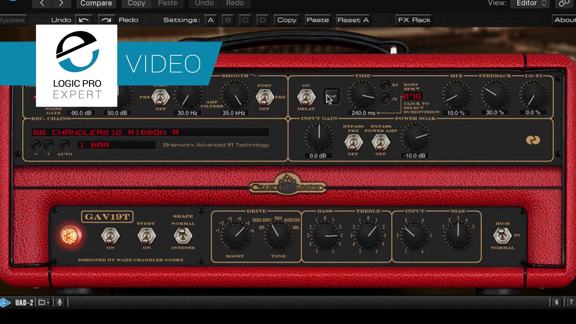 Stereo Guitar Amp Processing in Logic Pro X | Logic Pro