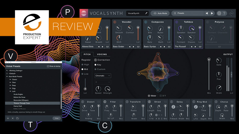 Review - iZotope VocalSynth 2