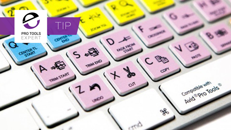 Pro Tools Tip: 10 Pro Tools Keyboard Shortcuts I Use All The Time