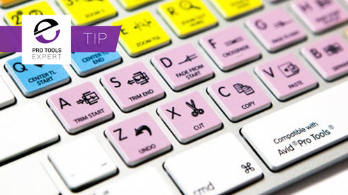Pro Tools Tip 10 Pro Tools Keyboard Shortcuts I Use All The