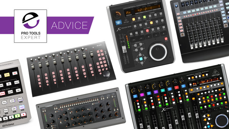 Control Surfaces For Pro Tools You Can Buy For Under 500 Budget Studio Bargains Pro Tools