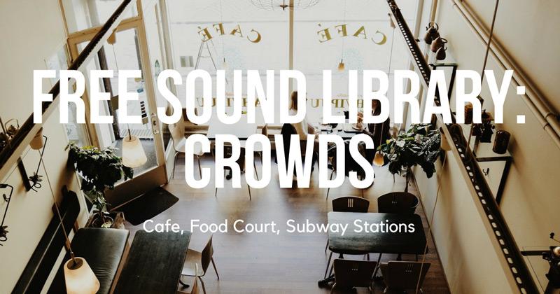 New Free Sound Bundle From Airborne Sound: Crowd Sound FX