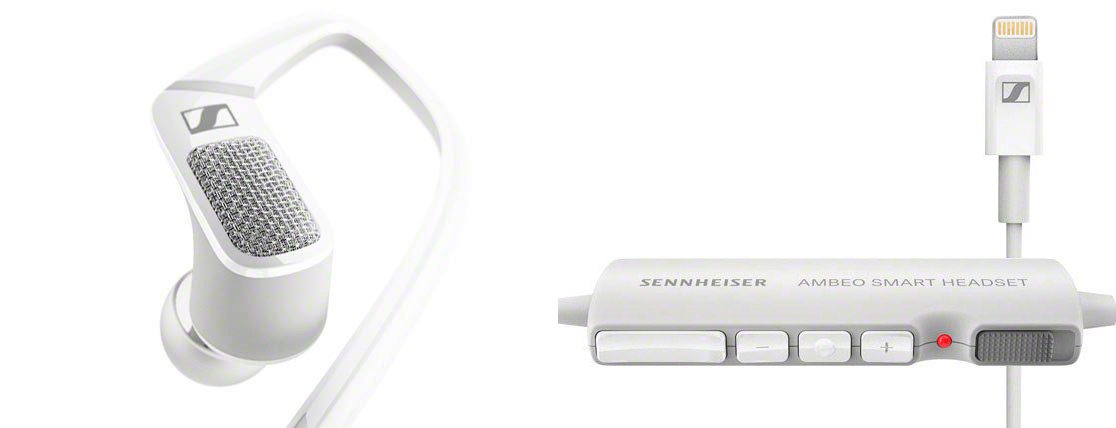 Sennheiser Ambeo Smart Headset  Now You Can Record In Binaural With
