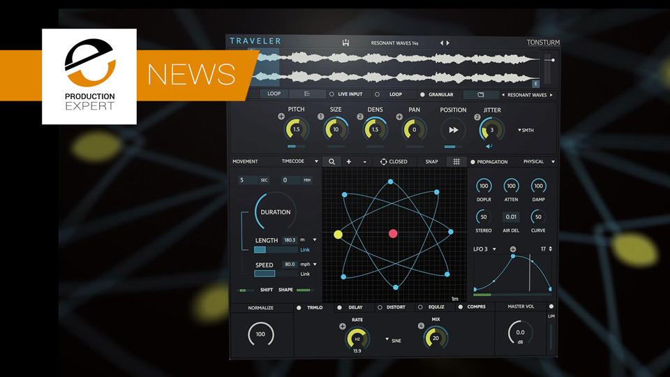 Tonsturm Today Release Traveler - A Processor That Recreates The Doppler Effect In Plug-in Form