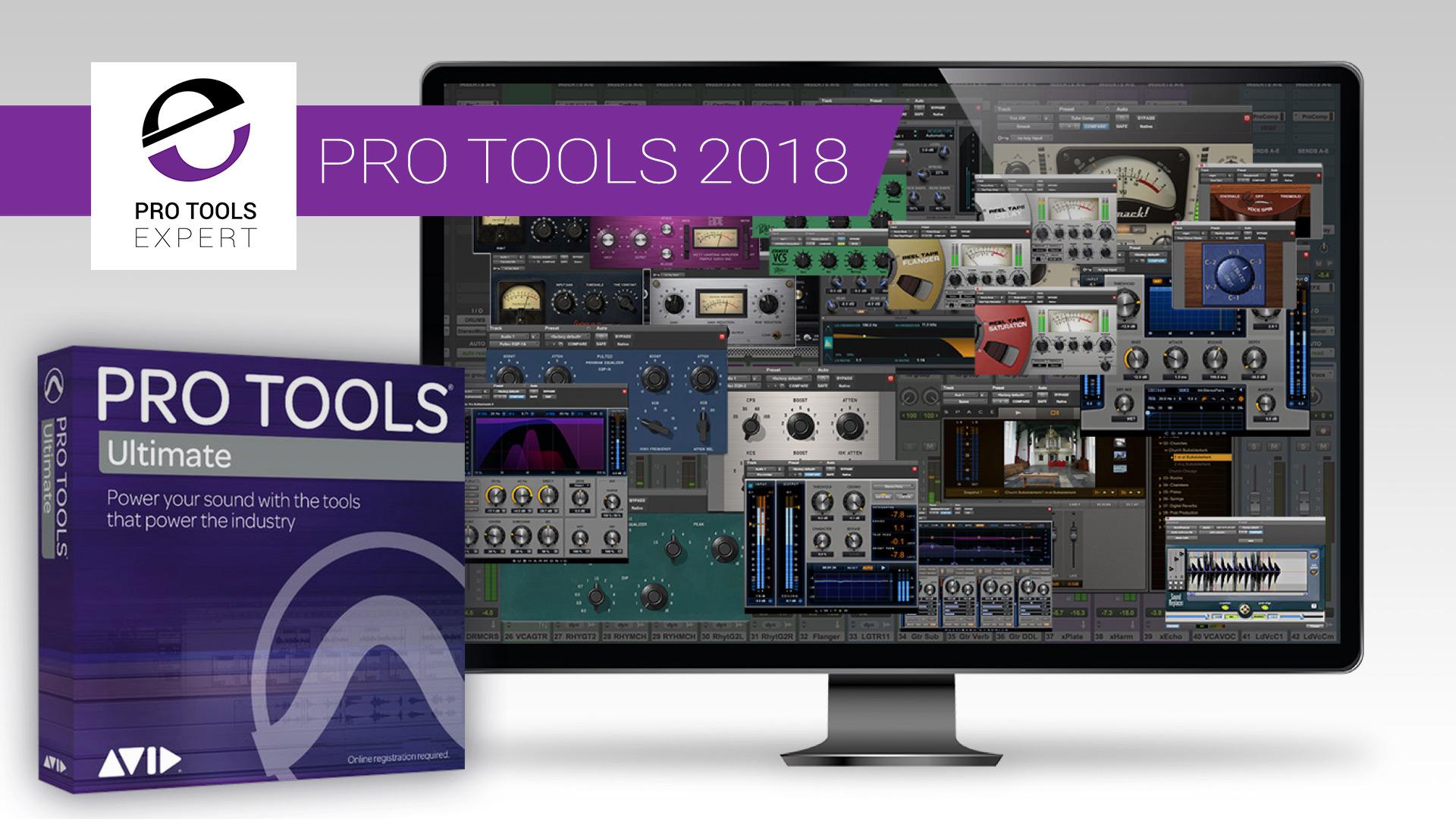 Pro Tools 2018