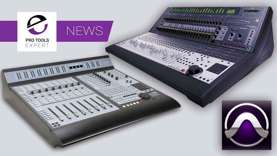 Neyrinck Release Update Of V-Control Pro That Now Supports Pro Control And Control 24 Legacy Control Surfaces With Pro Tools