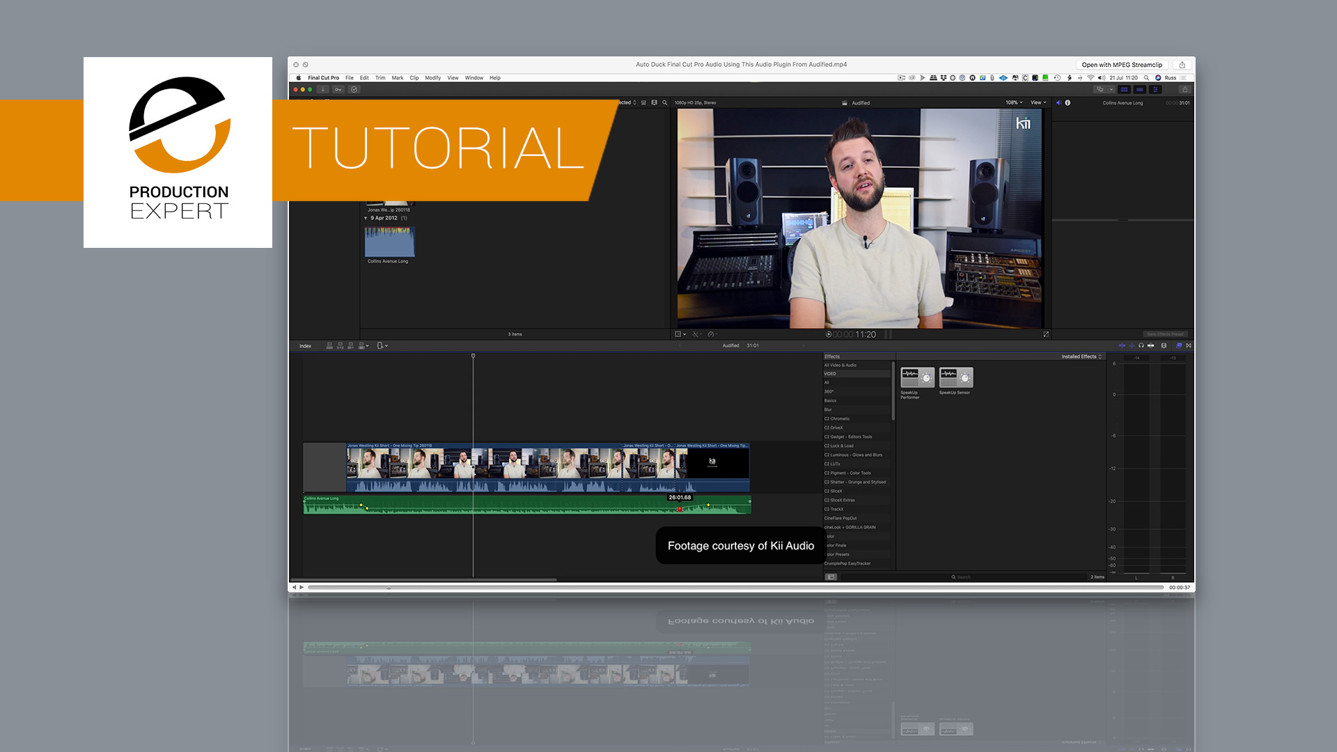 If You Want To Auto Duck Audio Fast In Final Cut Pro X Now