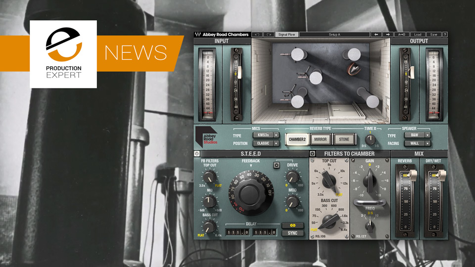 Waves Release Abbey Road Chambers - Get The Legendary Studio 2 Echo Chamber Sound Now