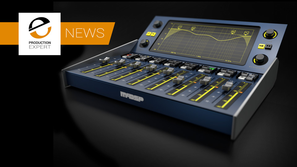 McDSP Release The NR800 Noise Reduction Processor Plug-in - It Works In Real-time With No Latency - Check It Out Now