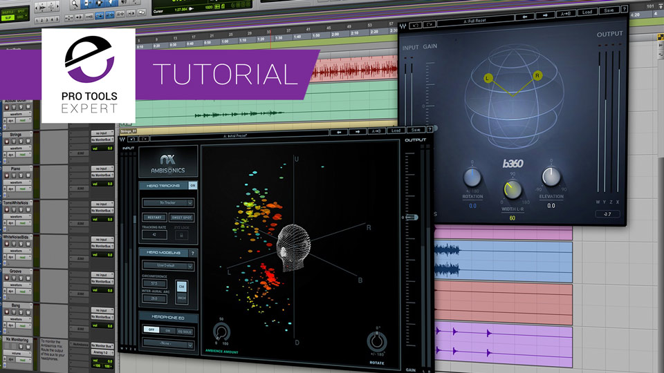 How to Prepare a Pro Tools Session for Mixing 360 Audio With Free Download From Waves