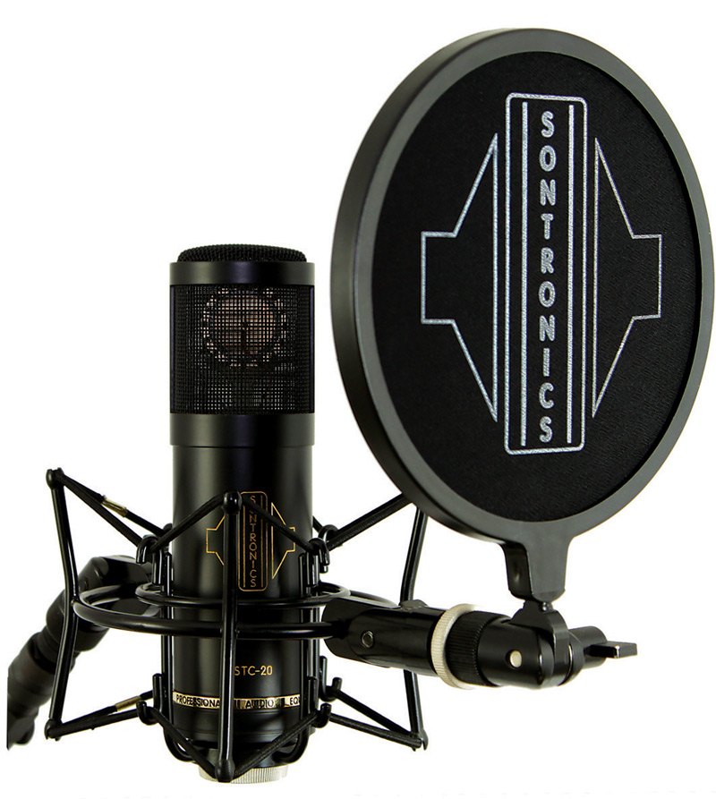 Sontronics STC-20 Pack With Shock Mount and Pop Filter
