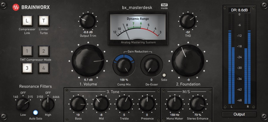 New Brainworx bx_masterdesk - Now A Plug-in Which Can Make Everyone