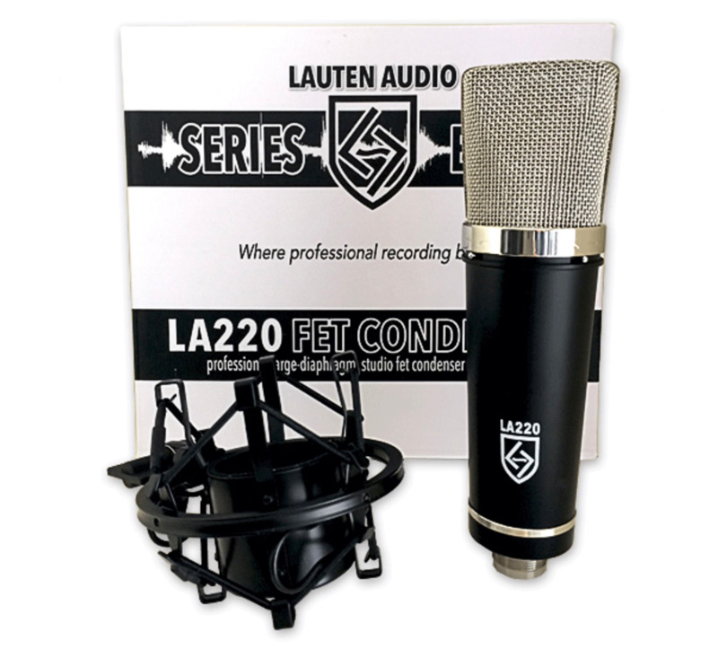 Lauten Audio Series Black LA220