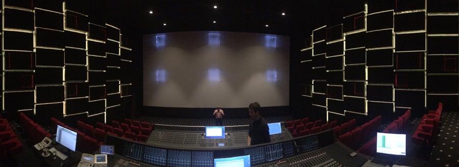 Dubbing Theatre in Galaxy Studios