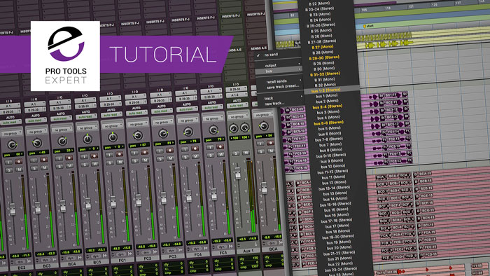 10 Ways You Can Use Auxiliary Tracks The Next Time You Track or Mix In Pro Tools