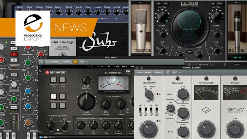 Universal Audio Release Version 9.6 Of The UAD-2 Software With 5 New Plug-Ins