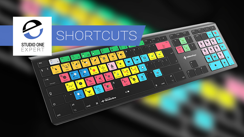 Studio one shortcuts Keyboard Banner
