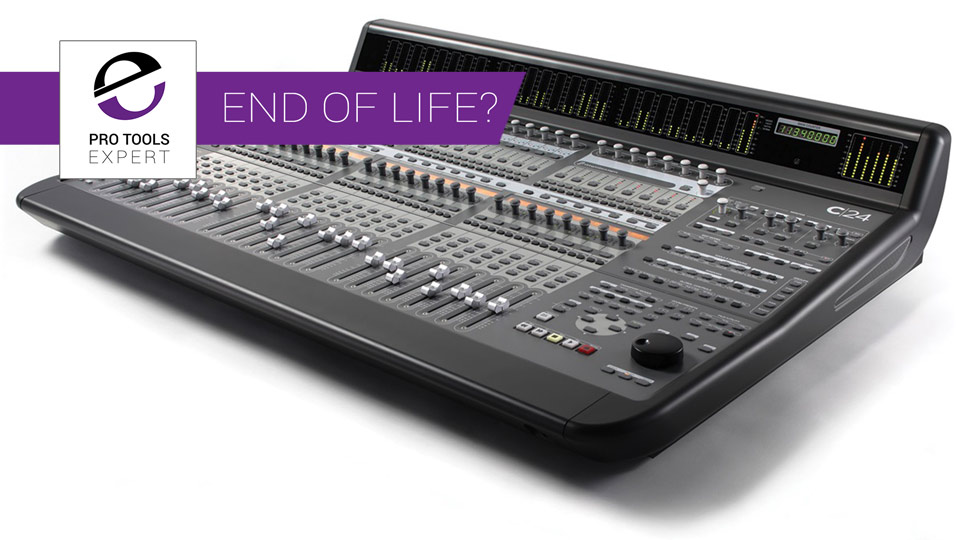Farewell Avid C24 - You Have Served Us Well. This Pro Tools Control Surface Is Approaching End Of Life Or Is It?