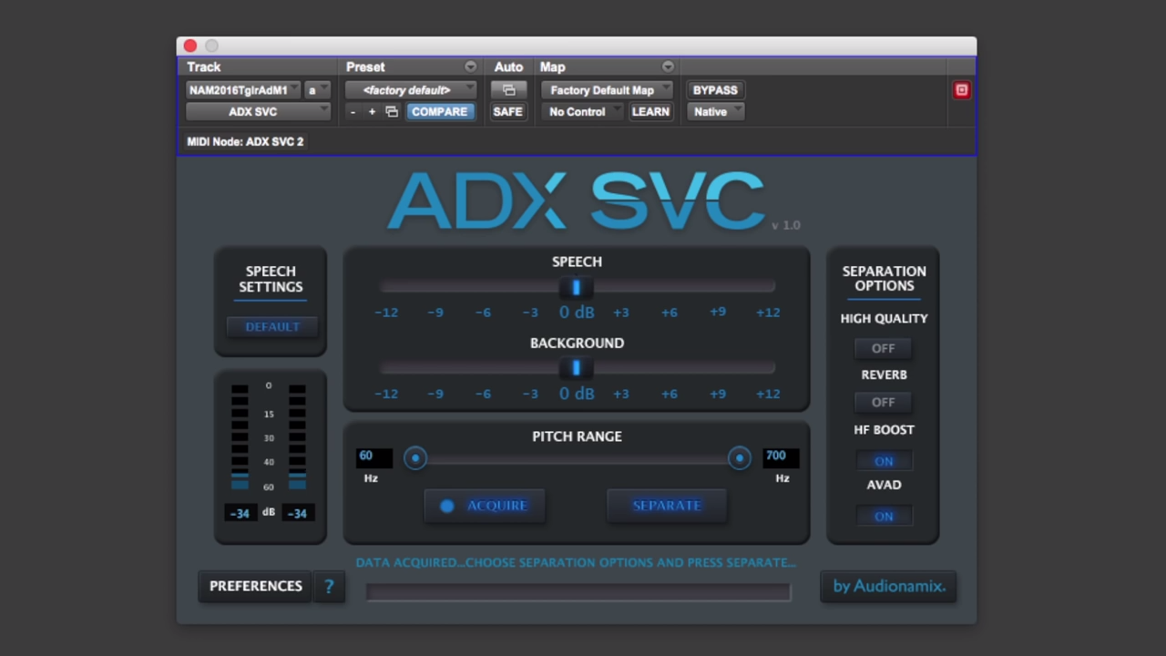 Have You Heard Audionamix's New IDC Plug-in Separate