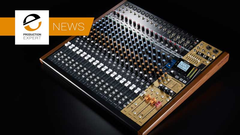 Tascam Model 24 - A NEW 22 Channel Mixer & Audio Recorder